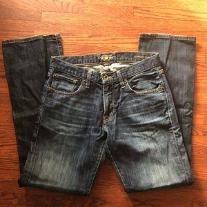 Men's Lucky Brand 221 Original Boot Jeans